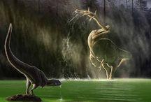 Dinosaures et fossiles