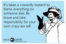 *Narcissistic Idiot...*