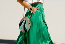 50 shades of GREEN #outfits / What to wear with green? How to match green in an outfit? / by Match Clothes Colors