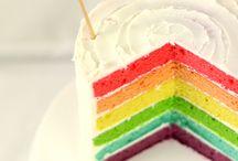 SibO-SibOn {layer cake et gâteaux} / que de cOuleurs, j'adOOOOre !