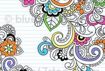 Zentagle,doodling