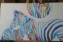 Tablolar (Original )Acrilik canvas By Mai Hatti / Acrilic ..