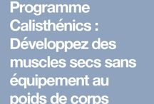 exercices poids du corps