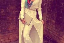 Hijab fashion / Fashion that is modest yet stylish.