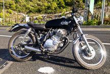 GN 250 CAFE RACER ELEDIN 1 / CAFE RACER, CUSTOM BIKE, MOTORCYCLE, OLD TIME, VINTAGE
