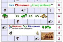 Basiowe Gry Planszowe / Darmowe gry planszowe dla dzieci dostępne na debinski.edu.pl