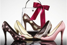 Choc shoes!  / Shoes made out of chocolate!  A ladies dream, two necessities in a woman's' life!!