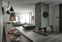 fireplace indoor