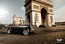 Shooting Mini Arc de Triomphe / One of the main restoration project of the year!