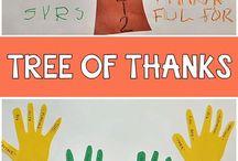 November Activities and Printables for Preschoolers