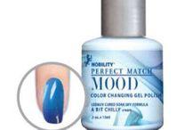 Lechat Mood Collection / Lechat Mood Collection. Colour changing gel polish.