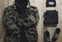 メンズストリートファッション