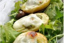 pommes  de  terre  nouvelles  au four farcies