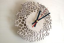 Asymmetree / Press images - laser cut clocks - interior design. All products by Asymmetree are inspired by nature, architecture and science. Designs and patterns are created through the use of parametric design. By generating computer simulations of various natural processes, different shapes evolve, with an infinite number of variations.