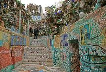 Ashley Massaro Philadelphia's Art and Culture / Philadelphia's Magic Garden is an institution filled with wonder.