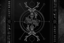 DEER LORD board game box design / packaging for our party card game