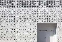 mesh facade