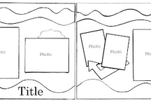 Sketches / Use these sketches for inspiration. Use your own creativity to create cards and layouts based off of these Layout/Card Sketches. #Cards #1pagelayouts #2pagelayouts