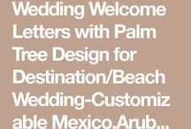 wedding letters of welcome