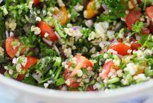 Grönsaker och sallader