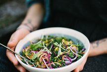 Salads photography