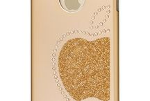 Luxury cases from iShield® for iPhone 6/6S/6 Plus/6S Plus with Crystals from Swarovski® / Modern luxury iPhone design case, which fuses light elegance with top quality and practicality Quality and style without compromises: features an elegant, brushed aluminum steel panel decorated with embedded, original Swarovski Crystals, framed by a resilient, soft-touch TPU-silicon bumper frame.