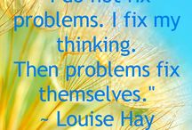 Louise Hay Quotes / Pregnancy, labour,  birth and newborn baby information to inspire confidence for Doulas, pregnant women and their families