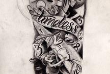 Tatuointihahmotelmat