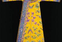 traje tradicional chino y koreano