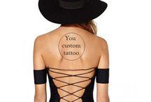 Faux tatouage personnalisé
