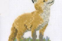 cross stitch, beads, pixelhobby