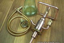 Steampunk DIY Industrial Pipe Hookah