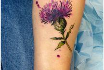 Fleurs sauvages tattoo