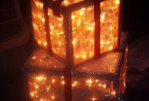 Build a Christmas box / Decorations