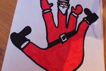 kerst tekeningen / over  kerst knutsels en tekeningen