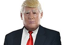 Political Party / Represent your favorite political people by wearing mask and costumes that resemble them!