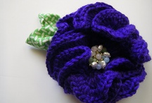 Crochet flowers / Broach