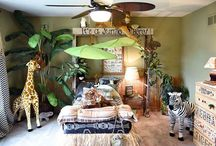 idée chambre jungle