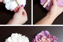 fiori ferma capelli