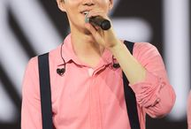 Suho Pink suit
