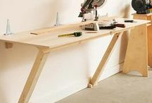 Fold-Flat Workbench