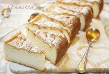 Sockerkaka med vanilj