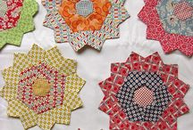 English Paper Piecing Quilts  / The delightful art of using paper pieces to construct a quilt- normally accomplished the old-fashioned way-- by hand! / by Pamela Nees