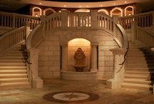 Staircases, Balustrades, and Columns / by Carved Stone Creations