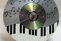 reloj de cd