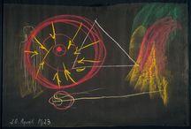 Blackboard art Steiner