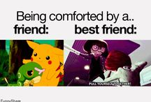 Friends VS Best Friends