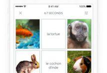 Alexander Sergeev: Good Apps / Yle Areena -Структурированная информация - Приятная цветовая гамма - Важная информация на видном месте  Quizlet - Удобно учить новые иностранные слова - Наглядные доски с примерами (фото) - Возможность создавать курсы  Monster - Приятное цветовове решение - Только самое необходимое для поиска работы, размещения рюземе