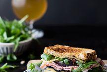 Sandwiches y tostadas