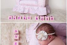 Charlotte Newborn Photographer / Charlotte Newborn photographer pinning baby photos in Charlotte, NC.